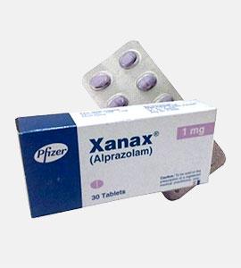 Xanax (Alprazolam) by Pfizer