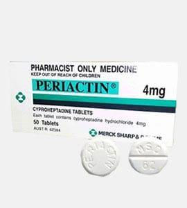 Periactine (Cyproheptadine)